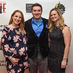 Sarah Jordan with Jesse and Lindsey Rasmussen.