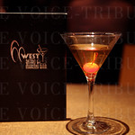 The event was held at 60 West Bistro & Martini Bar.