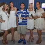 Lindsey Wellendorf, Lauren Jackson, Chris McCrea, Rebekah Phillips and Alisa Gray.
