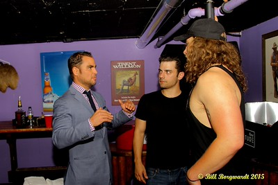 Jim Cressman, Invictus Entertainment with Jordan Pritchett and Cory Marquardt - King & Cash video shoot at Cook County Saloon 440