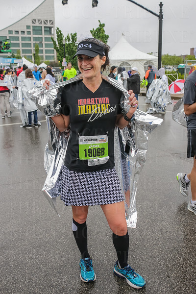 Marathon Maniac Heather Zeigler from Chicago has run 110 marathons in a little over four years.