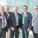 Fair Board Members William Talle, Fred Sarver, Mike Libs, Michael Grisanti and Chair, Dr. Mark Lynn.