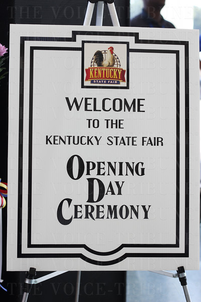 2015 Kentucky State Fair Opening Ceremony