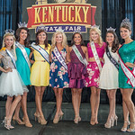 County pageant winners Carly Upchurch, Holly Luttrell, Chelsie Maitlin, Kiley Hoppe, Andrea Wallace, Shelbie Pettey, Paige Young and Ashby Drake.