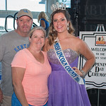 Farris, Evanna and Chelsea Marcum of Lincoln County.