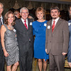 Mark and Jean Farley, the evening's honoree Mike Battaglia and Chris Bataglia, and Brett and Danielle Battaglia.