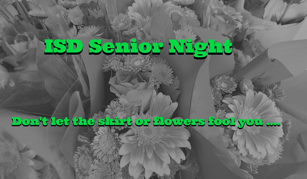 ISD Senior night 04-25-16