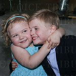 Boy and Girl of the Year Addie Roberts and Matthew Marshall.