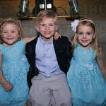 Boy and Girl of the Year Addie Roberts and Matthew Marshall with Audrie Roberts.