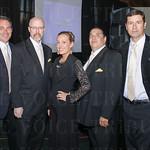 Ernest Laspiur, Larry Bourne, Shannon Majors, Joe D\'Amato and John Rendeiro of DownStage Live.