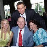 Wyman Marshall with Meredith and Mark Alexander and Nan Christ.