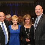Jerry and Lisa Zehnder, Elaine Hughes and Luke Howard.