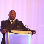 The welcome address was made by Dwight Mitchell.
