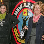 Stacie Bale and Kate Lewison of New Albanian Brewing Company.,