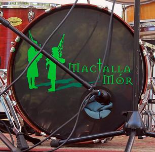 MacTalla Mor's bass drum