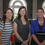 Kathryn Fisher, Lisa Wyterwal and Natasha Morris.