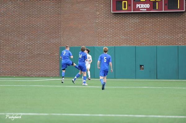 2015 MBA Varsity Soccer versus Baylo