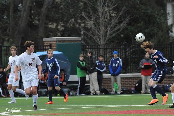 2015 MBA Varsity Soccer vs JP II