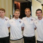 Magnus Rasmussen, Guy Abend, Ilija Ilic and Niall McCabe.