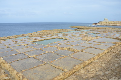 Salt Pans of Marsalforn