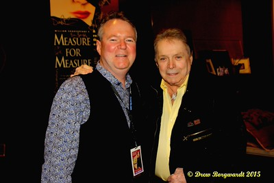 Rocklands Entertainment President Brian Edwards & Mickey Gilley - Mickey Gilley at Shoctor Theatre 006