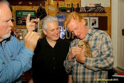 Denis Keldie, Steve Briggs, Russell deCarle - House Concert 139