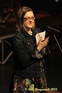 Andrea Martinuk - Theatre Manager -Boom Chucka Boys - McLab Theatre 2015 009