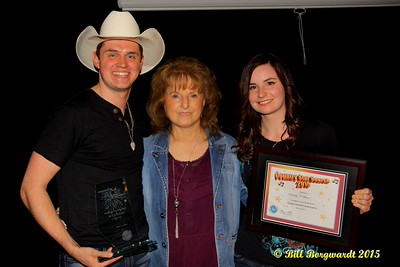 Ben Klick and Mariya Stokes with Global Country CEO Maryanne Gibson - Global Country Star Search #485