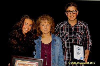 Nicole Sumerlyn, and Josh Ruzycki with Global Country CEO Maryanne Gibson - Global Country Star Search #133