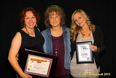 Michelle Lavallee and Nicki Pearson with Global Country CEO Maryanne Gibson - Global Country Star Search #237
