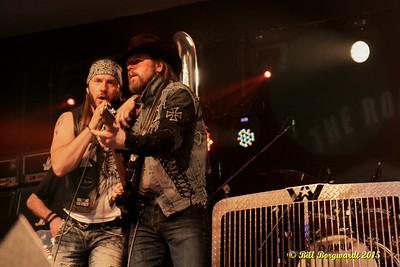 Clayton Bellamy & Jason McCoy - Road Hammers - Rainmaker Rodeo 2015 0950
