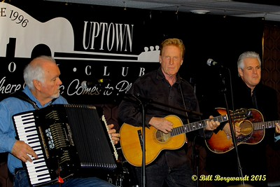 Denis Keldie, Russell deCarle, Steve Briggs - Russell deCarle Trio at the Uptown Folk Club 006