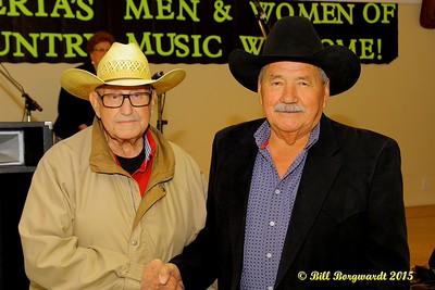 Lou Paul and his sponsor - Alberta's Men & Women of Country Music 2015