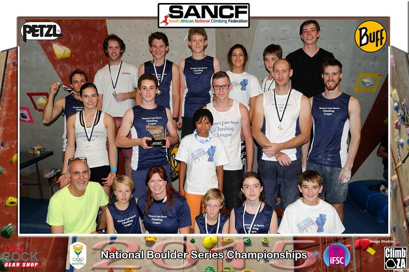 NATIONAL BOULDER CHAMPIONSHIPS - WCC Team