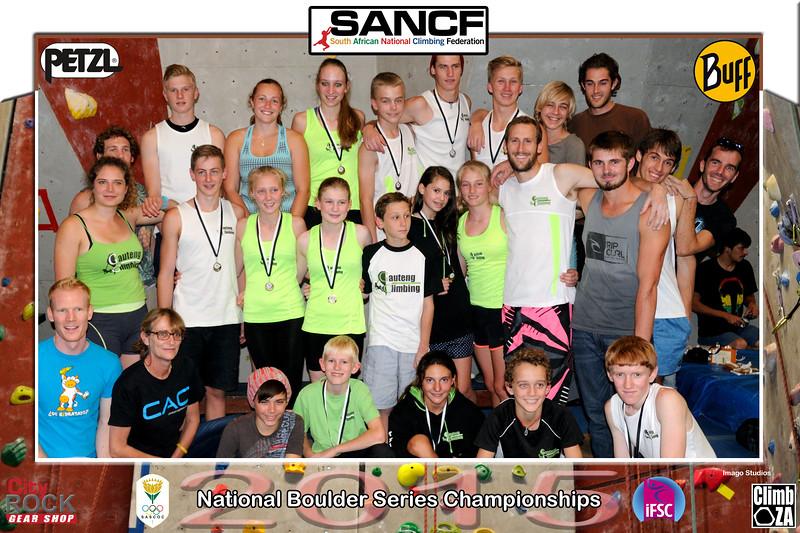 NATIONAL BOULDER CHAMPIONSHIPS - GC Team