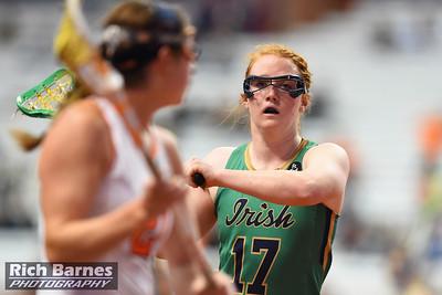 NCAA Womens Lacrosse 2015: Notre Dame vs Syracuse APR 07