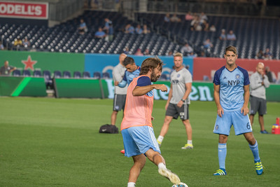 New York City FC Vs Chicago on  Sept 23, 2016, Yankee stadium Bronx NY, USA, MLS