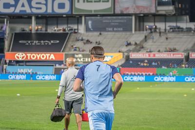 New York City FC Vs Chicago on  Sept 23, 2016, Yankee stadium Bronx NY, USA, MLS