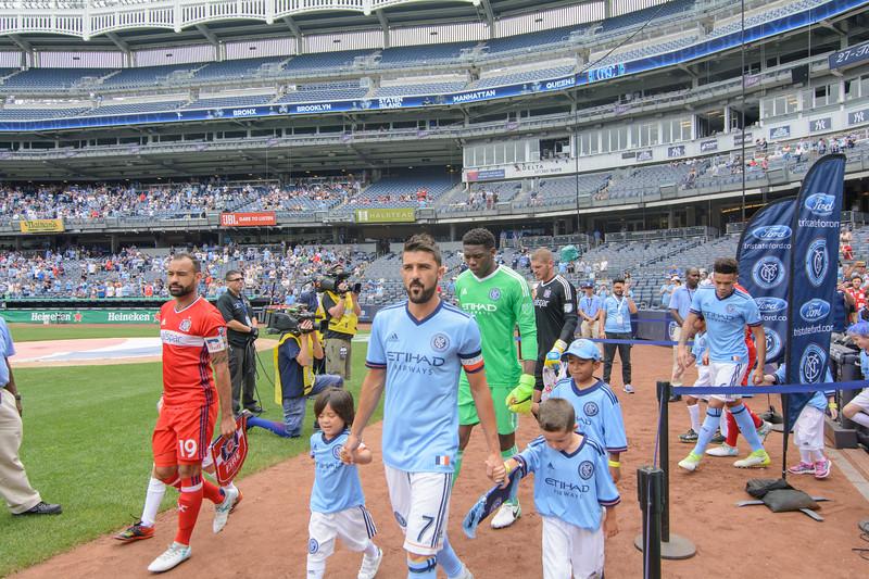 NYCFC & Chicago