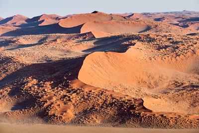 Looking north towards Namib-Naukluft National Park