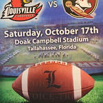 Just For Kids. The primary live auction item was a trip for two to the University of Louisville versus Florida State football game. Item included airline travel with the team, hotel accommodations, VIP package, etc.