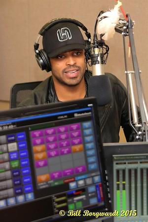 November 2, 2015 - JoJo Mason Radio Visit to CFWE