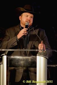 Brett Gardiner - CFR Announcer - CFR Presser 2015 005
