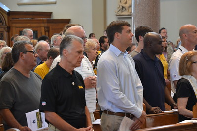 2015 Opening Mass, Pittsburgh Steeler Training Camp