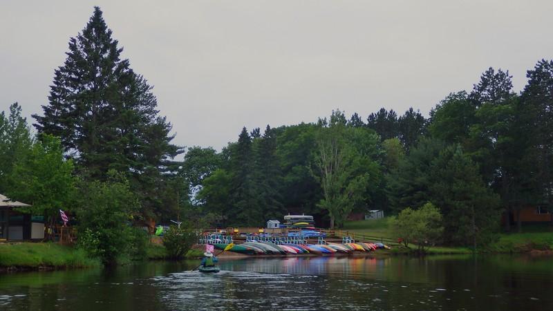 Log Cabin, Trego