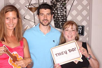 Sharon & Chris' Wedding Photo Booth