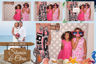 Sharon & Chris' Wedding Photo Booth