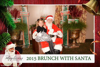 2015 Brunch With Santa at Applecross Country Club - Snap Party Booths