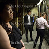 """Mezzo-soprano singer Alice Chung awaits her turn on stage during an """"Evening of Arias"""" held at the Norton Memorial Hall. The event was held to showcase the voices of young artists who will be performing in the opera hall throughout the season."""