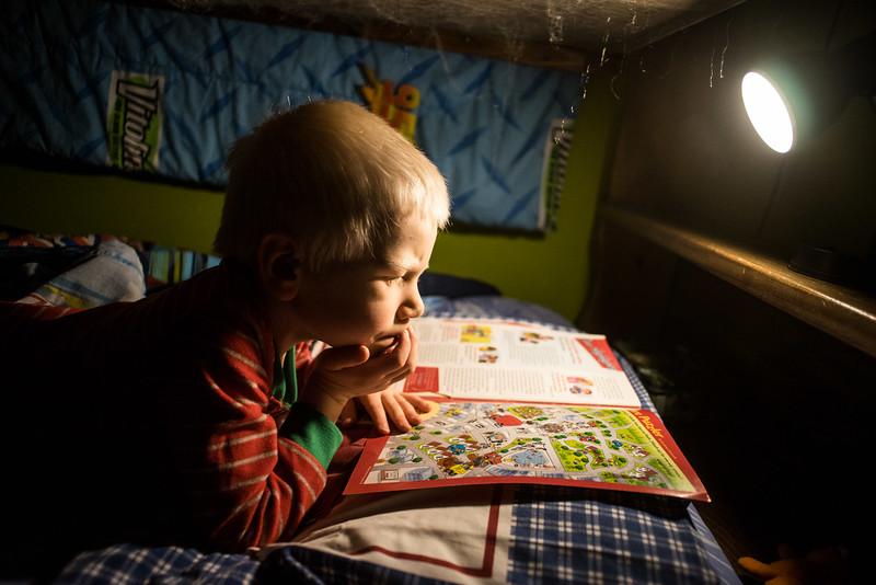 1/13 - Bedtime studies